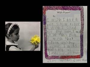 1st Grade Wish Poem