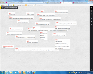 Padlet for Howard